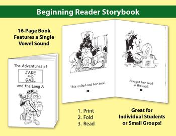 Long A Little Book: Beginning Reader Storybook