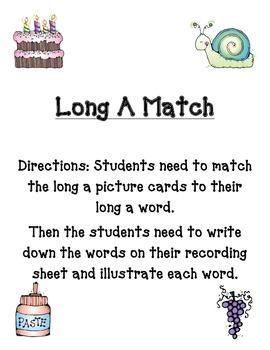 Long A Match