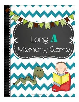Long A Memory Game