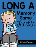 Long A Memory Game Freebie