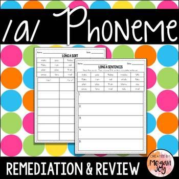 Long A Phoneme - Phonics Practice & Review