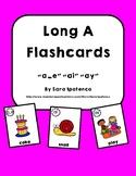 Long A Phonics Flashcards Bundle