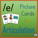 Vowel Articulation Cards for Speech Therapy: Long A