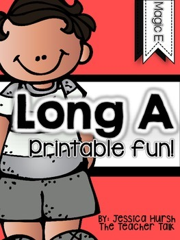 Long A Printables & Activities