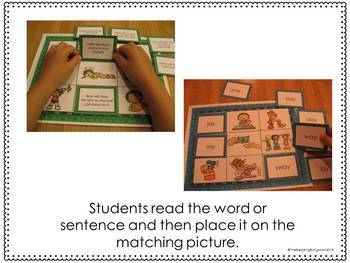 Long A Read and Cover Boards {ay, ai, silent e, simple sentences}