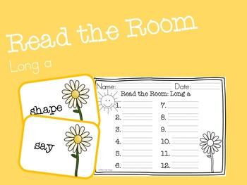Long A Read the Room {FREEBIE}