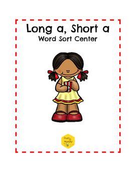 Long A, Short A Word Sort Center