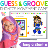 Long A Silent E Movement Game for Google (TM) and PowerPoi