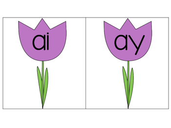 Long A Sort (AI and AY) {Spring Theme}