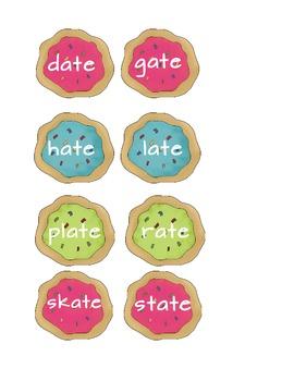 Long A Sort - Cookies