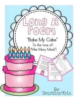Long A CVCe Poem!