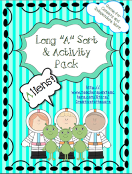 Long A Activity Pack