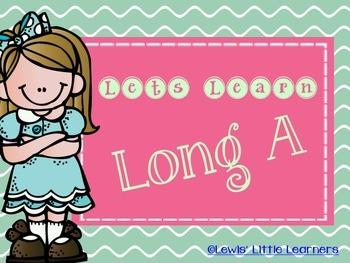Long A Vowel Pack