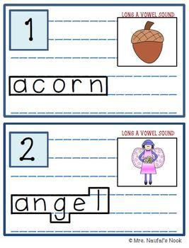 Read the Room Alphabet Long Vowel A