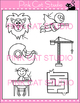 Long A Vowel Sound Spelled 'a-e' Phonics Clip Art Set - Commercial Use Okay