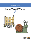 Worksheets - Long A Vowel Sounds - Gr 1-2