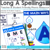 Long A Vowel Spellings Posters- Cracking The Spelling Code