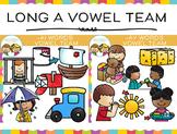 Vowel Team Long A Vowel Clip Art Bundle