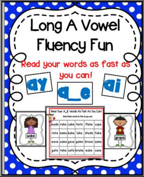 Long A Vowel Team Fluency Fun