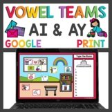 Long a Worksheets and Write the Room Activities