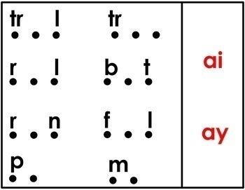 Long A Vowel Teams Digital Word Work
