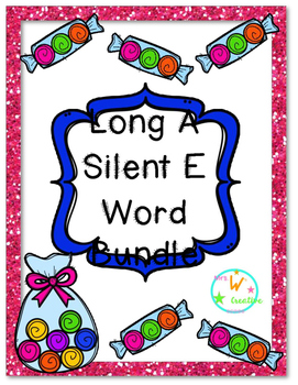 Long A Word Activity Bundle