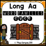 Long Vowels Long A Magic E CVCe Words