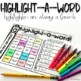 Long A Word Work Activities for Literacy Centers