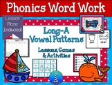 Long-A Word Work: Lessons, Games, & Activities