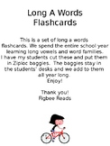 Long A Words Flashcards