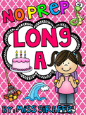 Long A Worksheets and Activities {NO PREP!} Long Vowels Worksheets