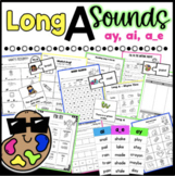 Long A Worksheets *Differentiated
