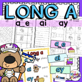 Long A Worksheets a_e, ai- ay
