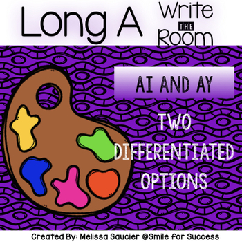 Long A Write the Room ( AI and AY)