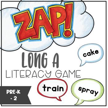 Long A - ZAP literacy game