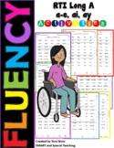 Long A (a-e, ai, ay)  Fluency RTI