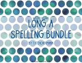 Long A (a_e, ai, ay, eigh) Spelling Resources