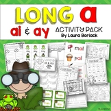 Long A ai and ay Activity Pack