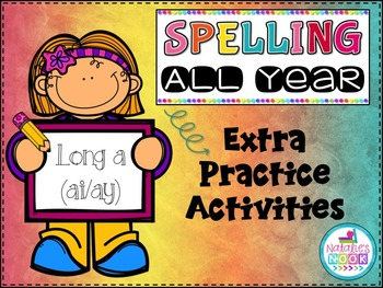 Long A (ai/ay) - Extra Practice Activities