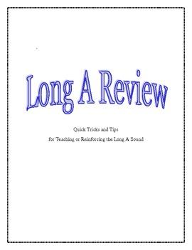 Long A- ai/ay- Review