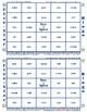 #2 Long A and Short A Phonics Bingo Card Game