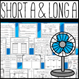 Long A and Short A Worksheets: Cut and Paste Sorts, Cloze, and More!