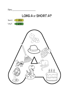 Long A or Short A