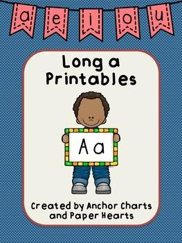 Long A printable