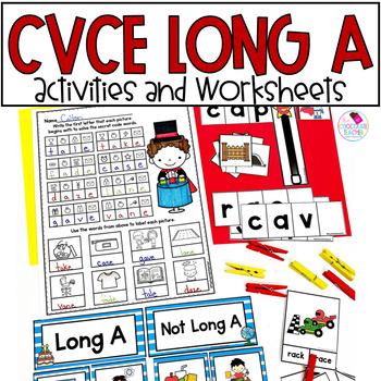 Long A with Magic E CVCe