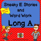 NO PREP Long A with Sneaky E Comprehension Stories and Word Sorts