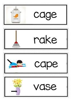 Long Aa Word Wall Cards #2