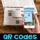 Long Ago & Now: Article, Fact Sort, Comprehension Questions & QR Codes