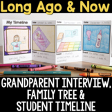 Long Ago & Now: Grandparent Interview, Family Tree & Student Timeline