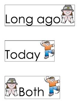 Long Ago Sort Labels